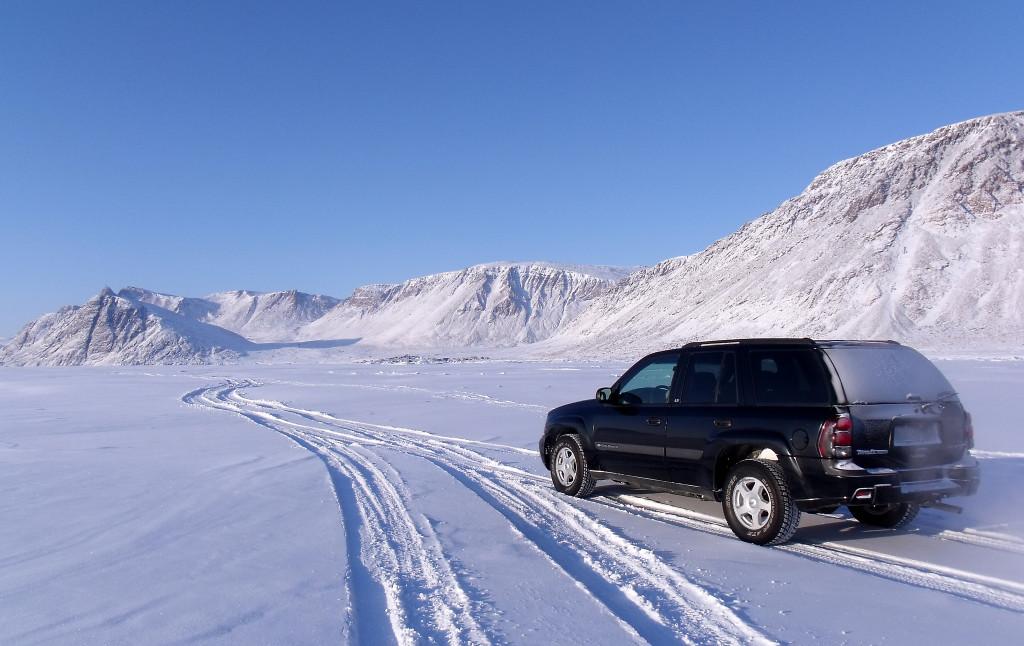 Wintersport: Winterse omstandigheden op de weg