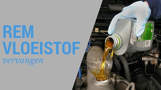 Remvloeistof vervangen - een doe het zelf klus?