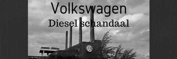 Volkswagen diesel schandaal